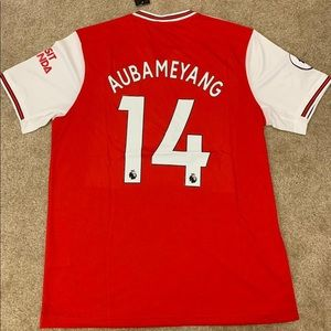 NEW Aubameyang Arsenal Home 2020 Jersey